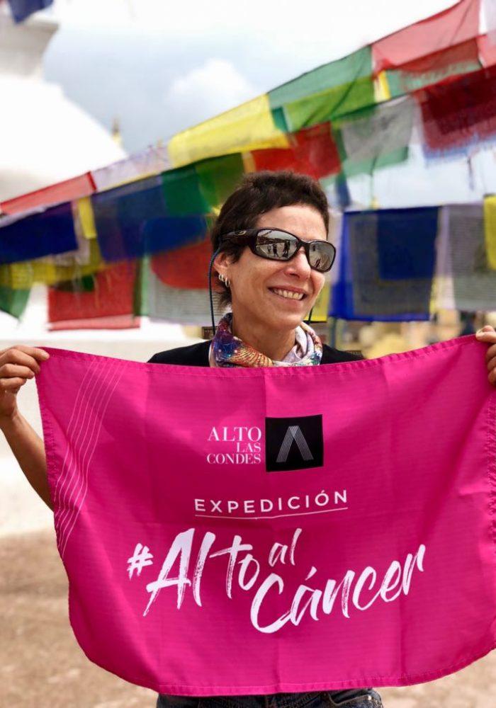 María Paz conquistó el Monte Everest