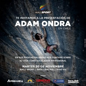 Afiche Adam Ondra – Version Mall Sport