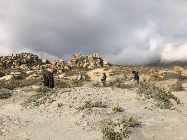 Peregrinacion a la roca