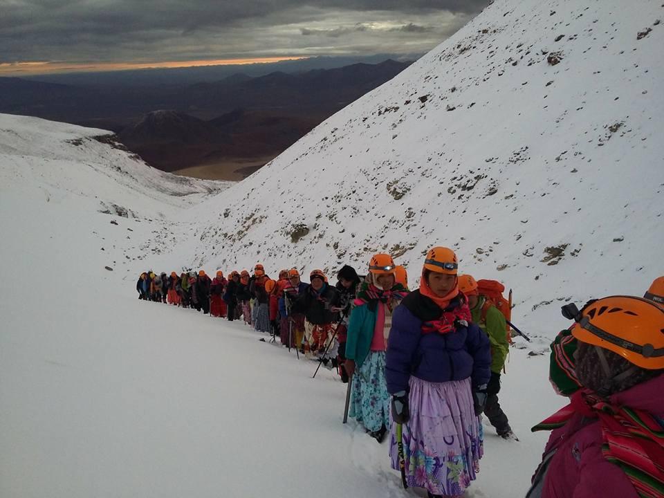 cholitas nieve