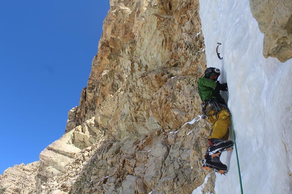 nico escalada en hielo