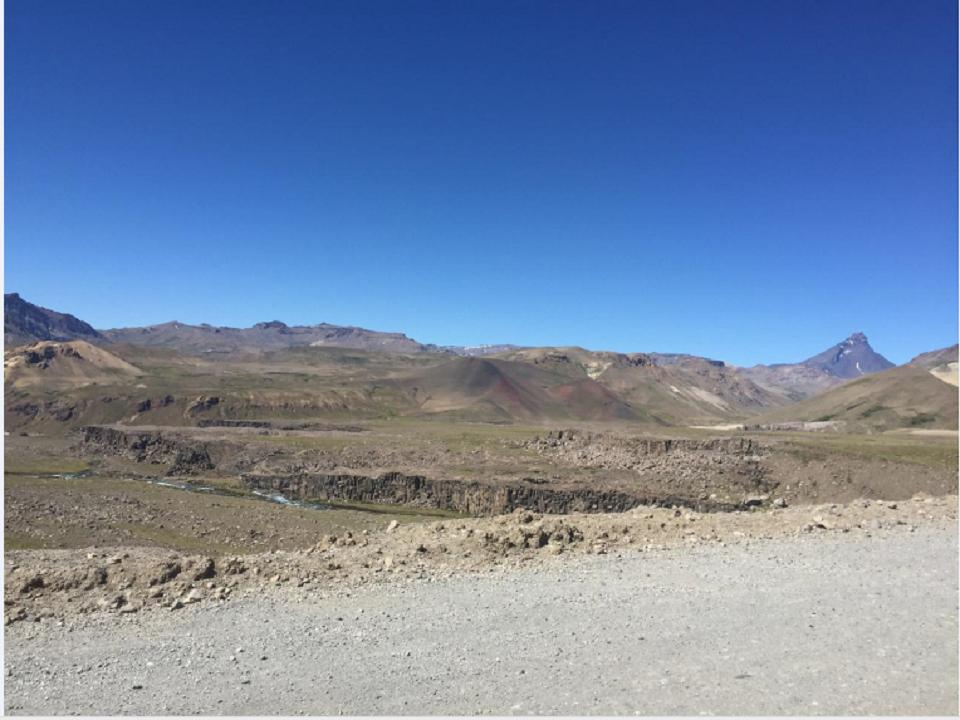 Vista del Campanario desde el Valle de los cóndores. Fotografía- Carlos Bravo