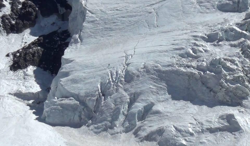 Ascensión del Colgante del Cerro Plomo en Navidad. Un clásico