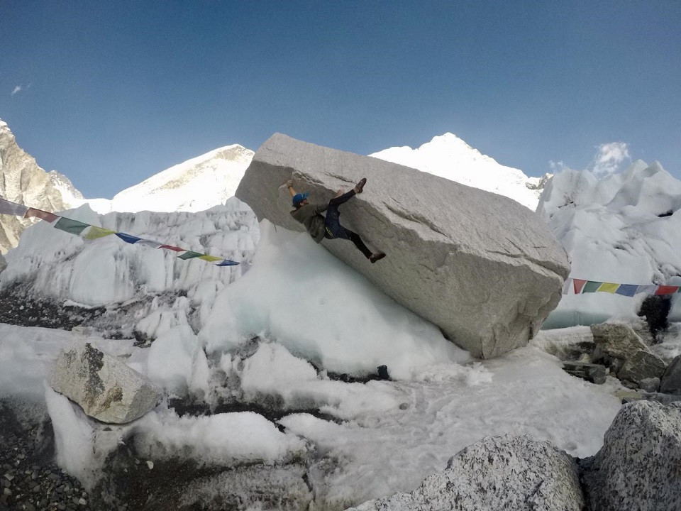crash pad hielo