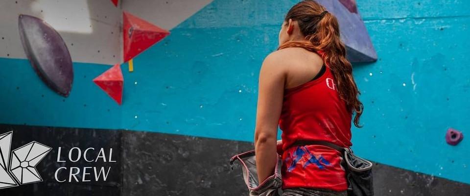 Concentración nacional de la selección de escalada, foto Eduardo Rojas